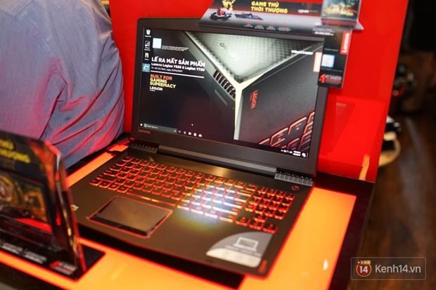 Lenovo Việt Nam ra mắt laptop dành cho game thủ Y520 và Y720: cấu hình mạnh mẽ, giá hạt dẻ vô cùng - Ảnh 2.