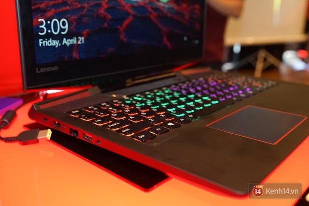 Lenovo Việt Nam ra mắt laptop dành cho game thủ Y520 và Y720: cấu hình mạnh mẽ, giá hạt dẻ vô cùng - Ảnh 5.