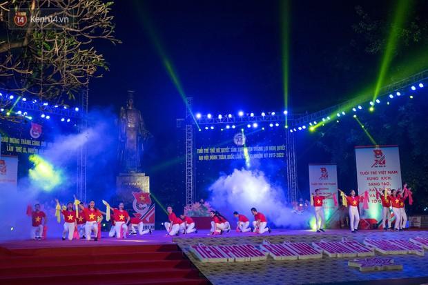 Dạ hội chào mừng thành công Đại hội Đoàn toàn quốc với màn hợp xướng 50 SV cực hoành tráng - Ảnh 1.