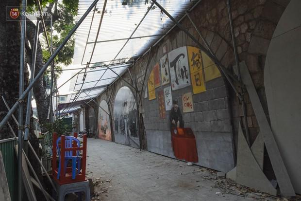 Hà Nội: Dự án bích họa trên phố Phùng Hưng bị đắp chiếu, biến thành bãi gửi xe bất đắc dĩ sau 1 tháng triển khai - Ảnh 3.