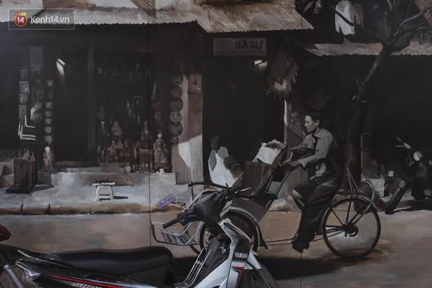Hà Nội: Dự án bích họa trên phố Phùng Hưng bị đắp chiếu, biến thành bãi gửi xe bất đắc dĩ sau 1 tháng triển khai - Ảnh 11.