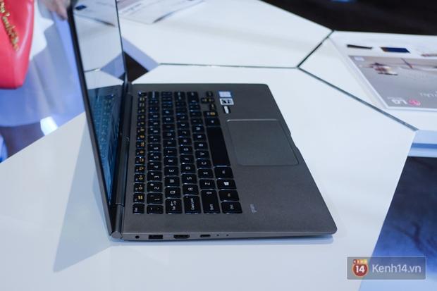 LG ra mắt dòng laptop LG Gram siêu nhẹ đến thị trường Việt Nam, chỉ bằng 5 chiếc iPhone 7 Plus - Ảnh 6.