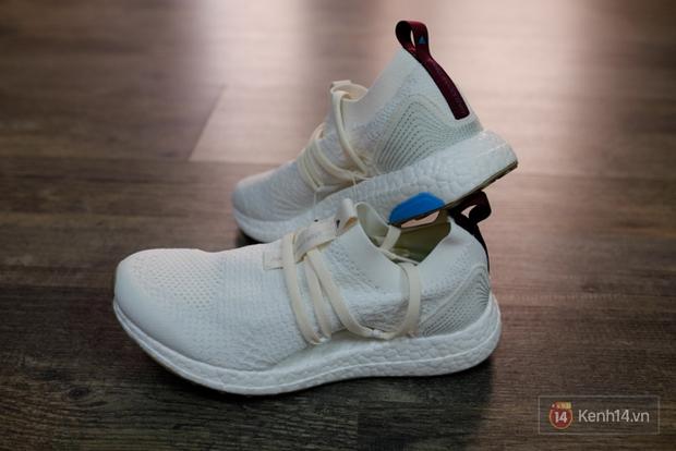 Review cận cảnh đôi adidas làm từ rác thải đại dương đã có mặt tại Việt Nam: đẹp - nhẹ và đế ngoài siêu bền - Ảnh 12.