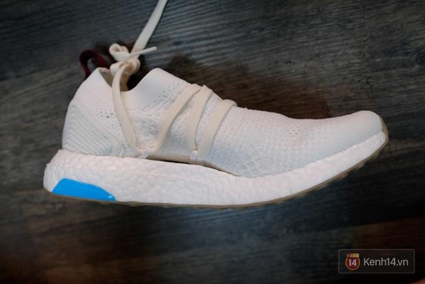 Review cận cảnh đôi adidas làm từ rác thải đại dương đã có mặt tại Việt Nam: đẹp - nhẹ và đế ngoài siêu bền - Ảnh 17.
