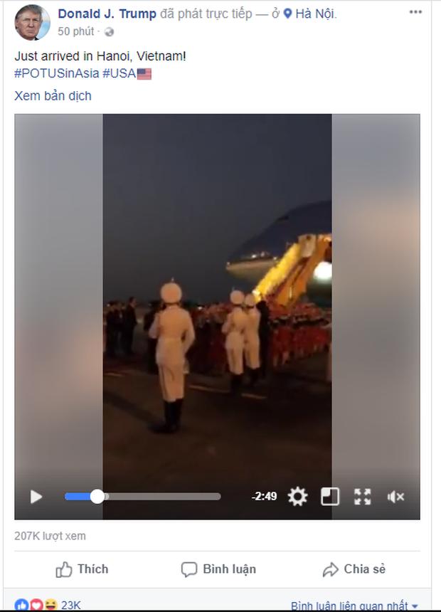 Tổng thống Mỹ Donald Trump đến Hà Nội, an ninh thắt chặt ở các tuyến phố trung tâm - Ảnh 25.