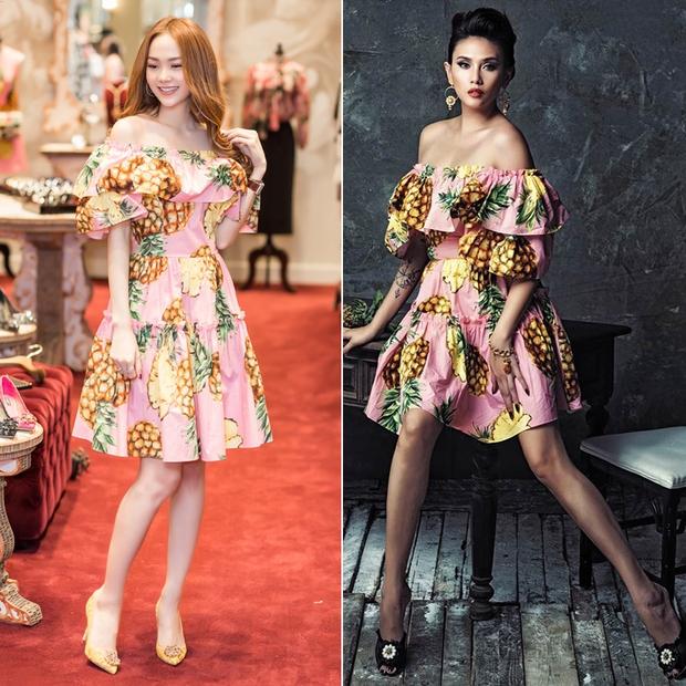 An Nguy hai lưng và Kelly Nguyễn gợi cảm, ai diện chiếc đầm hồng công chúa xinh hơn? - Ảnh 11.
