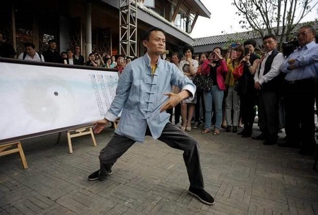 """Tỷ phú Jack Ma """"bon chen"""" đóng phim với Chân Tử Đan và Lý Liên Kiệt - Ảnh 5."""