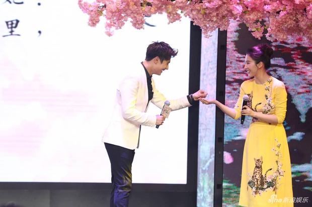 Vừa úp mở chuyện chia tay với Song Seung Hun, Lưu Diệc Phi đã rạng rỡ và tình tứ bên người tình màn ảnh kém 4 tuổi - Ảnh 7.