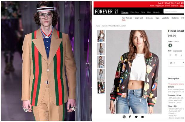 Gucci quyết đâm đơn kiện Forever 21 chỉ vì 2 họa tiết kẻ sọc đình đám - Ảnh 1.