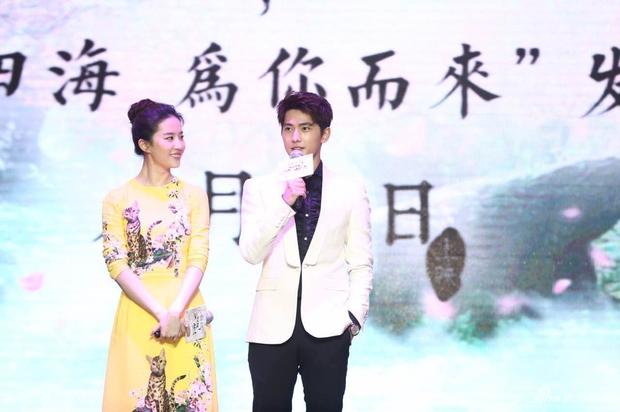 Vừa úp mở chuyện chia tay với Song Seung Hun, Lưu Diệc Phi đã rạng rỡ và tình tứ bên người tình màn ảnh kém 4 tuổi - Ảnh 2.