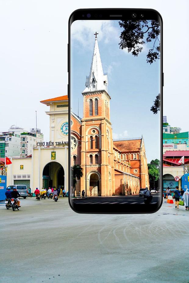 Bộ ảnh Sài Gòn Vô cực đẹp ấn tượng chụp bằng Galaxy S8+ - Ảnh 2.