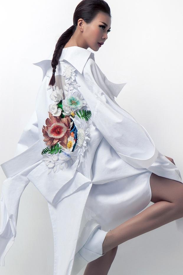 Siêu mẫu Thanh Hằng làm vedette cho BST diễn tại Tokyo Fashion Week của NTK Công Trí - Ảnh 4.