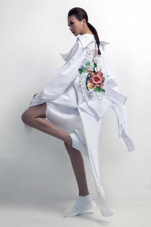 Siêu mẫu Thanh Hằng làm vedette cho BST diễn tại Tokyo Fashion Week của NTK Công Trí - Ảnh 9.