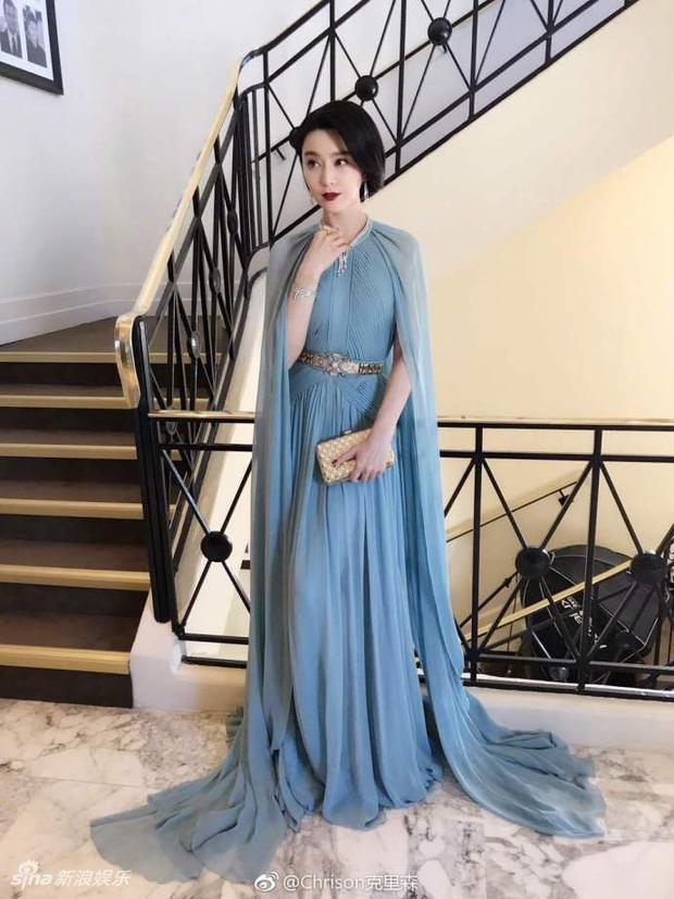 Thảm đỏ LHP Cannes: Phạm Băng Băng lộng lẫy như nữ hoàng, quyết cân dàn mỹ nhân quốc tế - Ảnh 5.