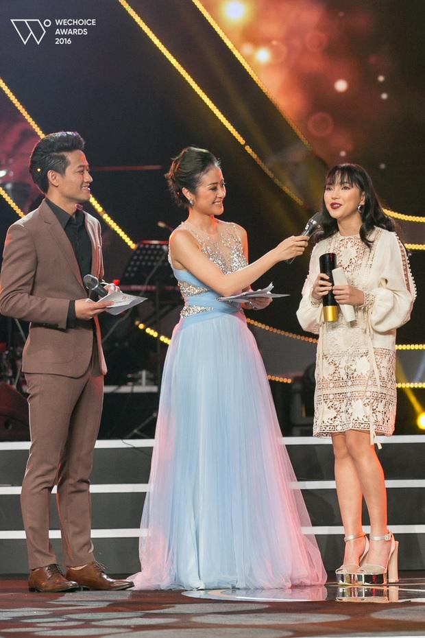 Hot girl Châu Bùi nhận giải thưởng New Face của WeChoice Award 2016 - Ảnh 2.