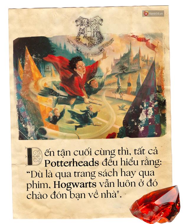 20 năm, 7 tập truyện: Harry Potter vừa là thế giới phép màu ai cũng mơ, vừa là nơi chúng ta cùng nhau trưởng thành - Ảnh 12.