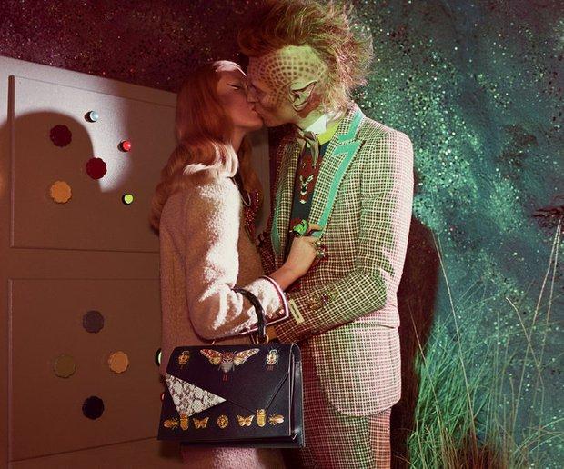Thời trang hay người ngoài hành tinh, khủng long hay túi hiệu, phim quảng cáo của Gucci có tất - Ảnh 7.