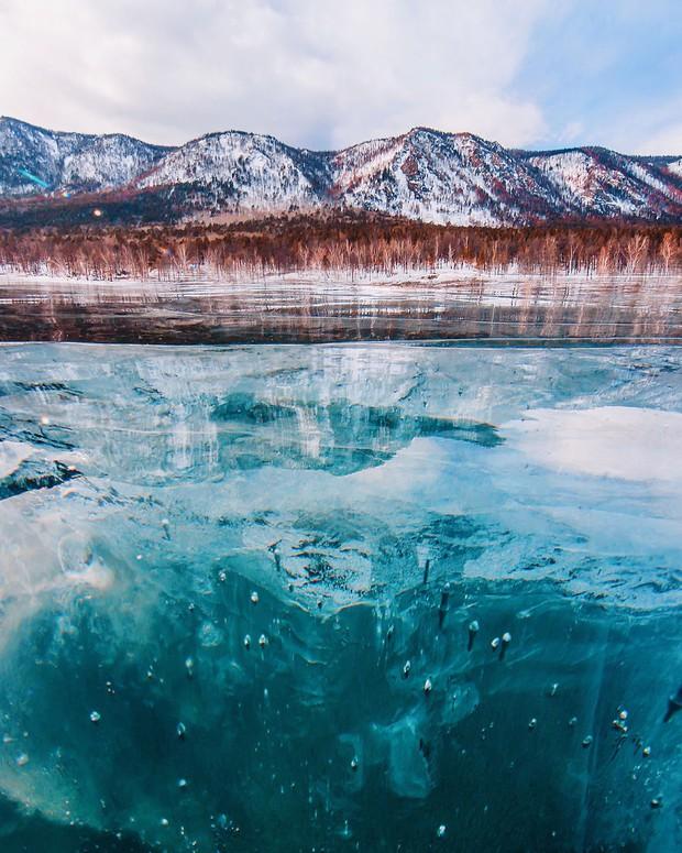 Ngắm nhìn hồ băng đẹp như cổ tích ở miền nam nước Nga - Ảnh 15.