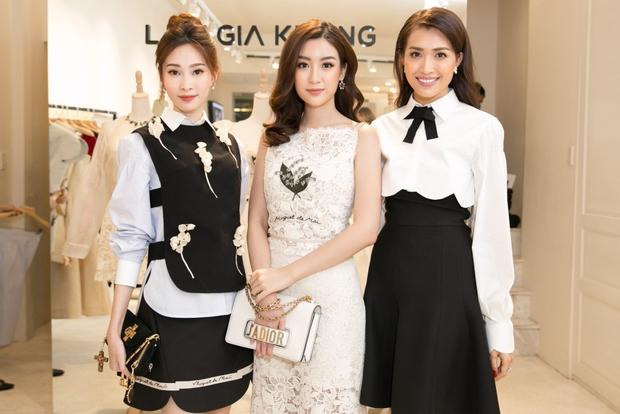 Bộ đôi Hoa hậu Thu Thảo - Mỹ Linh: một chín một mười, xinh đẹp khó rời mắt khi cùng đọ sắc - Ảnh 6.