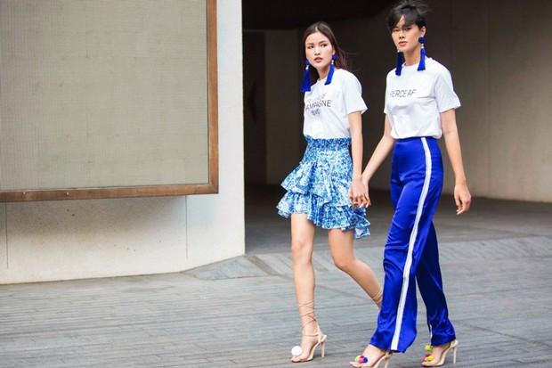 Người mẫu tomboy nhất Việt Nam để lộ 100% vòng 1 trên sàn diễn Elle Fashion Show - Ảnh 6.