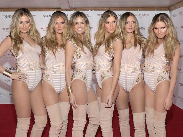 Nghỉ hưu Victorias Secret, cựu siêu mẫu Heidi Klum vẫn nổi nhờ những bộ đồ Halloween độc-không-đối-thủ - Ảnh 22.