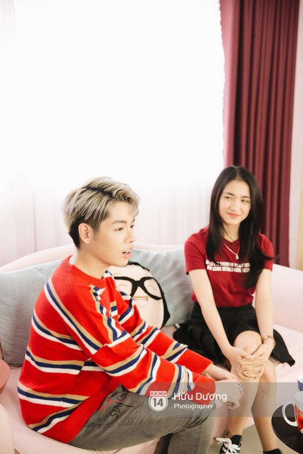 Clip phỏng vấn: Hòa Minzy - Đức Phúc bắt chước Phạm Hương, nhẫn nhịn đọc comment tiêu cực - Ảnh 7.