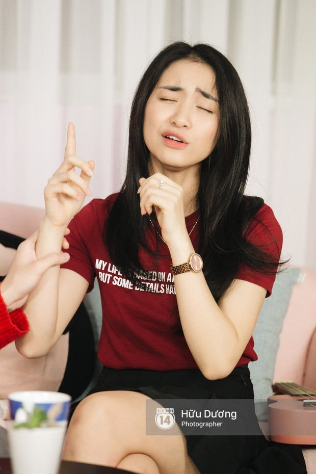 Clip phỏng vấn: Hòa Minzy - Đức Phúc bắt chước Phạm Hương, nhẫn nhịn đọc comment tiêu cực - Ảnh 16.