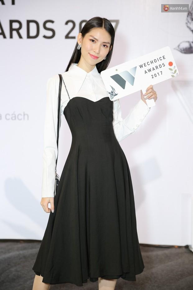 Đông Nhi cùng dàn mỹ nhân Việt xinh đẹp nổi bật trên thảm đỏ của họp báo WeChoice Awards 2017 - Ảnh 11.