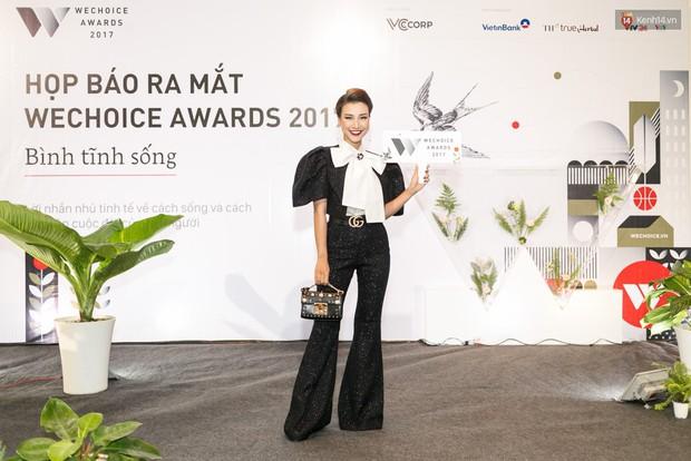 Đông Nhi cùng dàn mỹ nhân Việt xinh đẹp nổi bật trên thảm đỏ của họp báo WeChoice Awards 2017 - Ảnh 6.