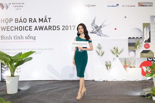 Đông Nhi cùng dàn mỹ nhân Việt xinh đẹp nổi bật trên thảm đỏ của họp báo WeChoice Awards 2017 - Ảnh 5.