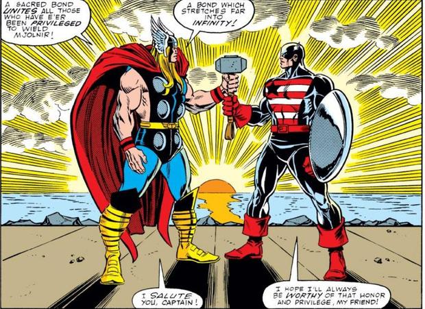 Ngoài Thor, còn ai nhấc được búa thần Mjolnir? - Ảnh 2.