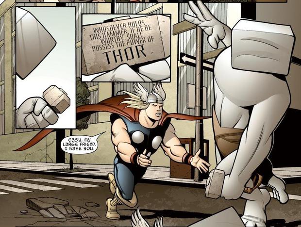 Ngoài Thor, còn ai nhấc được búa thần Mjolnir? - Ảnh 3.