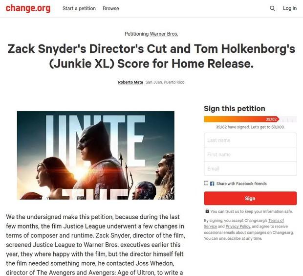 Fan DC đòi Warner Bros. phát hành bản phim gốc của đạo diễn Zack Snyder - Ảnh 3.