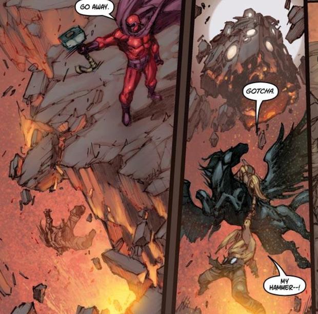 Ngoài Thor, còn ai nhấc được búa thần Mjolnir? - Ảnh 5.