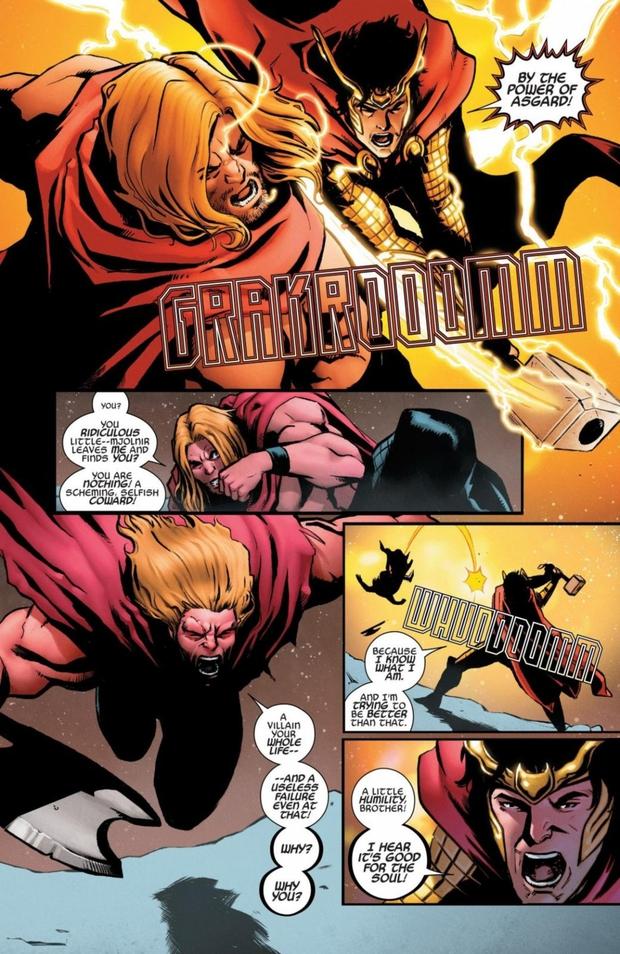 Ngoài Thor, còn ai nhấc được búa thần Mjolnir? - Ảnh 6.