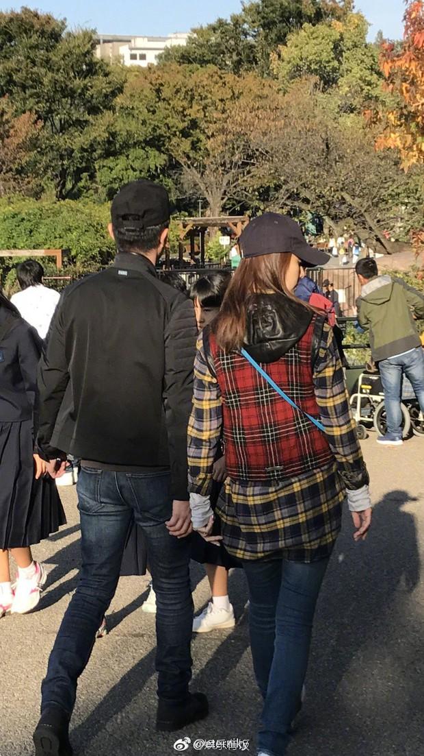 Giải toả stress, Hoắc Kiến Hoa đưa bà xã Lâm Tâm Như đi du lịch Nhật Bản - Ảnh 3.