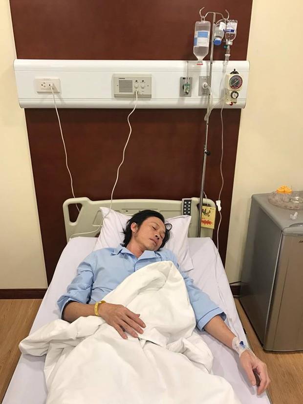Hoài Linh phải nhập viện vì nhiễm trùng đường ruột, ngộ độc thức ăn - Ảnh 1.