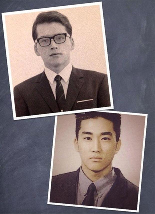 Những ông bố của mỹ nam mỹ nữ hàng đầu xứ Hàn: Đẹp đến tầm tài tử cũng phải ghen tị - Ảnh 1.
