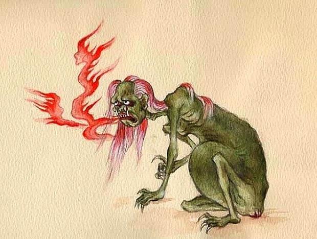 Truyền thuyết quỷ đói nỗi ám ảnh kinh hoàng và những điều kiêng kị tháng cô hồn trong dân gian - Ảnh 2.