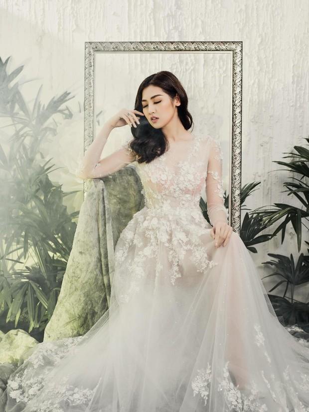 Á hậu Tú Anh đẹp thuần khiết trong BST váy cưới 2017 của Hacchic Bridal - Ảnh 6.