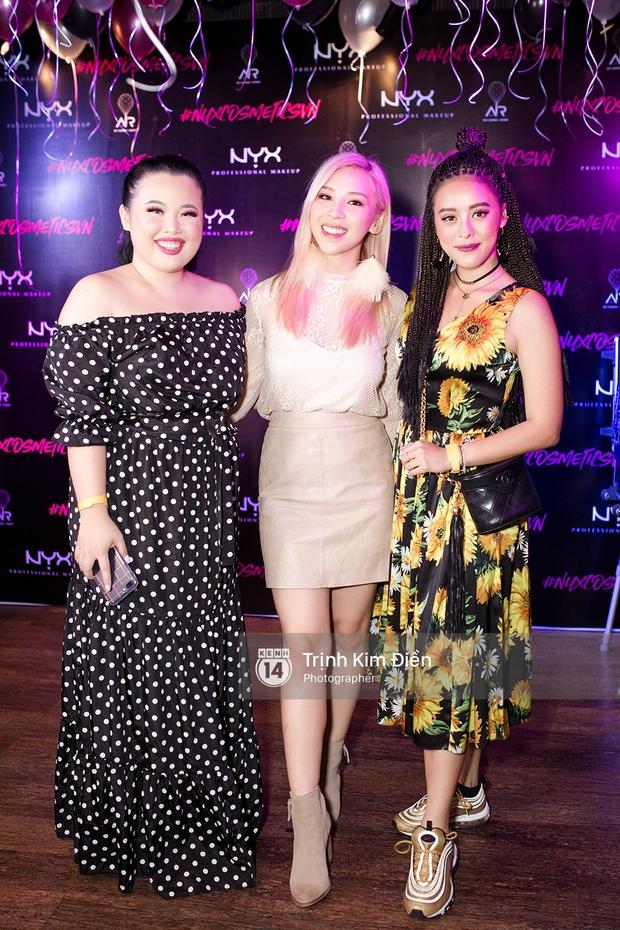 Hội ngộ tại sự kiện làm đẹp, Châu Bùi trung thành với son đỏ trong khi các beauty blogger Việt diện đủ màu son thời thượng - Ảnh 14.