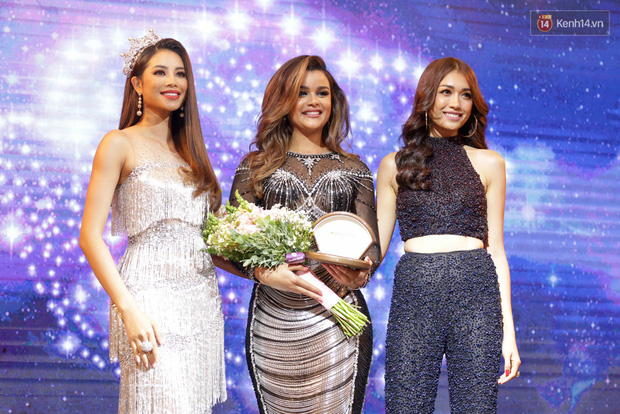 Họp báo show thực tế Hoa hậu Hoàn vũ: Phạm Hương đọ sắc với Nữ hoàng sắc đẹp Mỹ Latinh - Ảnh 6.