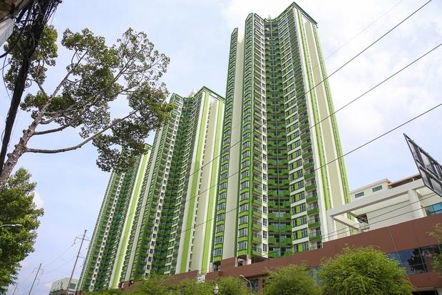 Cao ốc Thuận Kiều Plaza bỏ hoang bỗng lột xác với màu xanh lá nổi bật tại trung tâm Sài Gòn - Ảnh 14.