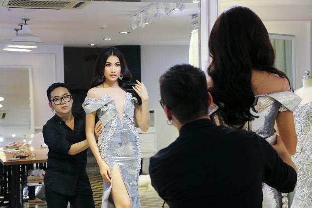 Đây là trang phục dạ hội mà Lệ Hằng mang đi chinh chiến tại Hoa hậu Hoàn vũ 2016 - Ảnh 8.