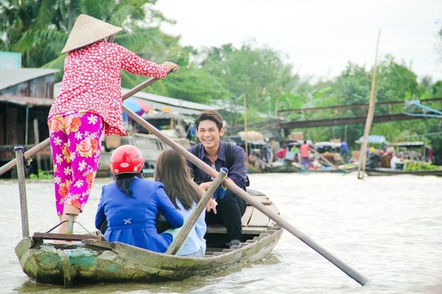 Khả Như rủ Sơn Ngọc Minh cùng về quê để chèo đò, hát vọng cổ - Ảnh 5.