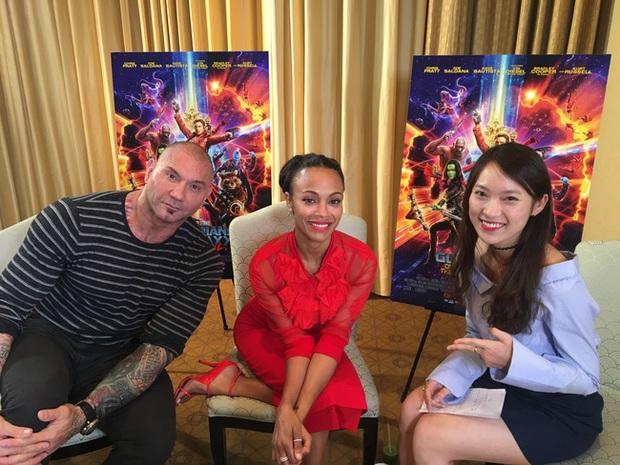 Không chỉ phỏng vấn trực tiếp, Khánh Vy còn tự tin rap dành tặng tài tử Hollywood Chris Pratt - Ảnh 3.