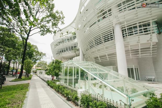 Thiên đường sống ảo mới của giới trẻ Sài Gòn: Nhà Thiếu nhi Thành phố siêu đẹp, siêu hiện đại! - Ảnh 5.