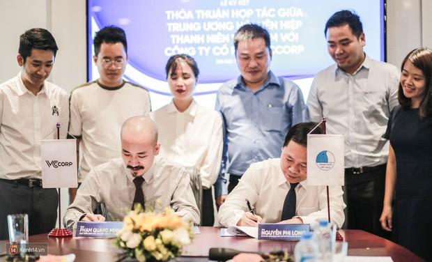 Lễ ký kết thỏa thuận hợp tác giữa TW Hội Liên hiệp Thanh niên Việt Nam và Công ty CP VCCorp - Ảnh 6.