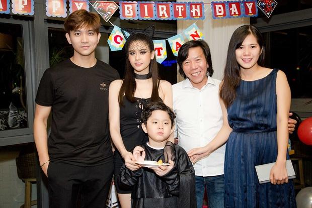 Trương Quỳnh Anh hoá miêu nữ gợi cảm, cùng Tim tổ chức sinh nhật cho con trai - Ảnh 11.