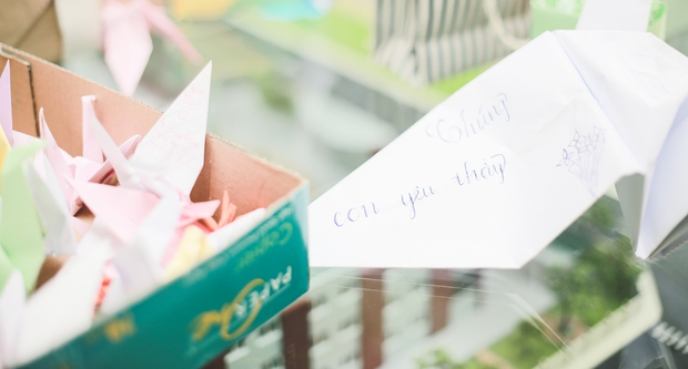 Học sinh Lương Thế Vinh gửi điều ước vào 19.000 hạc giấy, mong thầy Văn Như Cương sớm phục hồi - Ảnh 6.